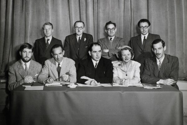 Photograph of the first IPPA council, courtesy of Christopher Ashe