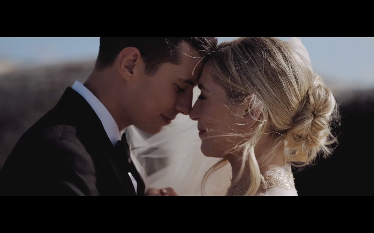 Still of a Bride and Groom from a Wedding Video by Gavin Gallagher
