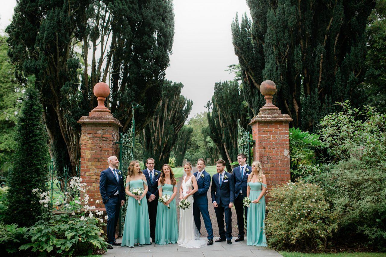 Bridal Party at gates
